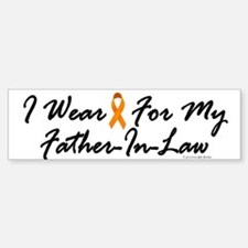I Wear Orange For My Father-In-Law 1 Bumper Bumper Sticker