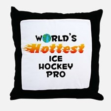 World's Hottest Ice H.. (C) Throw Pillow