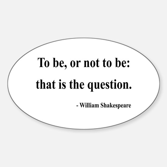 Shakespeare 20 Oval Decal