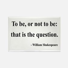 Shakespeare 20 Rectangle Magnet