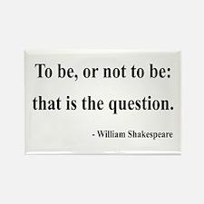 Shakespeare 20 Rectangle Magnet (10 pack)
