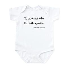 Shakespeare 20 Infant Bodysuit