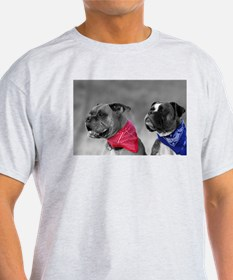 Two Boxer Brothers Ash Grey T-Shirt