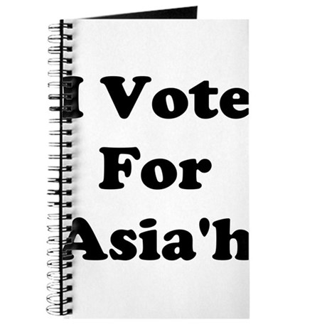 I Vote For Asia'h Journal