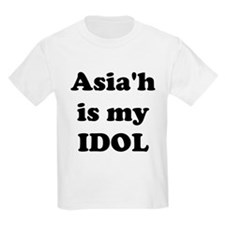 Asiah is my IDOL T-Shirt