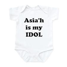 Asiah is my IDOL Infant Bodysuit