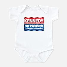 Retro Kennedy for President Infant Bodysuit