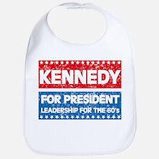 Retro Kennedy for President Bib
