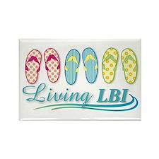Living LBI Rectangle Magnet (100 pack)