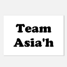 Team Asia'h Postcards (Package of 8)
