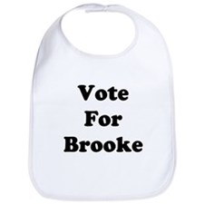 Vote For Brooke Bib