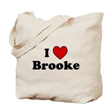 I Heart Brooke Tote Bag