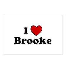 I Heart Brooke Postcards (Package of 8)