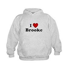 I Heart Brooke Hoodie