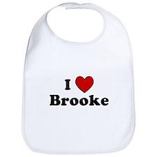 I Heart Brooke Bib