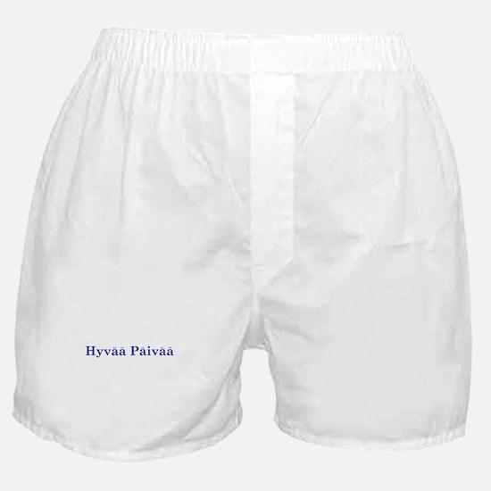 Hyvää Päivää Boxer Shorts