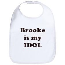 Brooke is my IDOL Bib