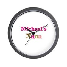 Michael's Nana  Wall Clock