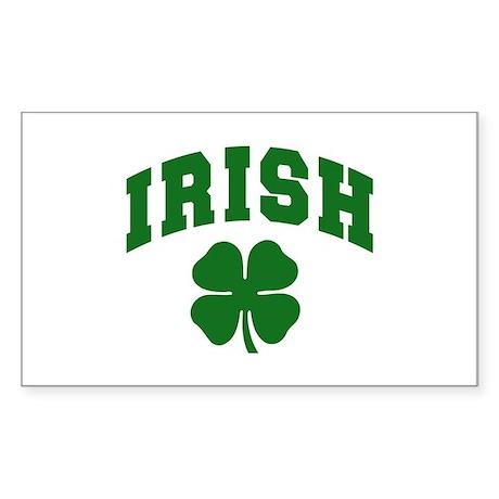 Irish Rectangle Sticker