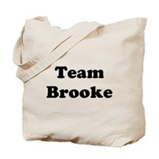 Team Brooke Tote Bag