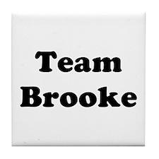 Team Brooke Tile Coaster