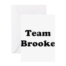 Team Brooke Greeting Card