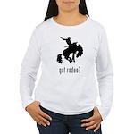 Rodeo 3 Women's Long Sleeve T-Shirt