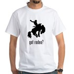 Rodeo 3 White T-Shirt