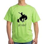 Rodeo 3 Green T-Shirt