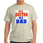 Doctor Dad! Ash Grey T-Shirt