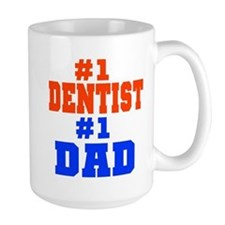 #1 Dentist Dad Mug