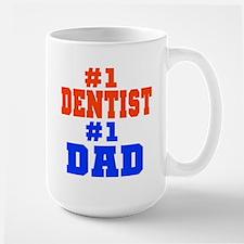 #1 Dentist Dad Mug