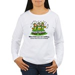 Irish eyes are smiling Women's Long Sleeve T-Shirt