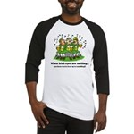 Irish eyes are smiling Baseball Jersey