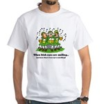 Irish eyes are smiling White T-Shirt