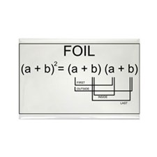 FOIL Method Rectangle Magnet