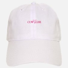 Cowgirl Cow Skull Baseball Baseball Cap