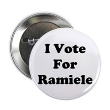 "I Vote For Ramiele 2.25"" Button (10 pack)"
