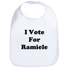 I Vote For Ramiele Bib