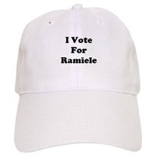 I Vote For Ramiele Baseball Cap