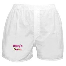 Riley's Nana  Boxer Shorts