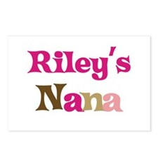 Riley's Nana  Postcards (Package of 8)