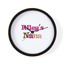Riley's Nana  Wall Clock