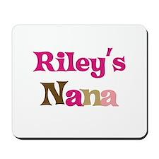 Riley's Nana  Mousepad