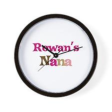 Rowan's Nana Wall Clock