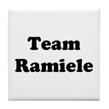 Team Ramiele Tile Coaster