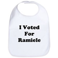 I Voted For Ramiele Bib