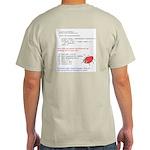 FindBugs Null pointer Ash Grey T-Shirt
