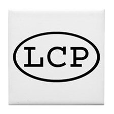 LCP Oval Tile Coaster