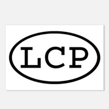 LCP Oval Postcards (Package of 8)